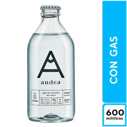 Andea Con Gas 600  ml