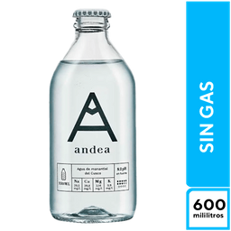 Andea Sin Gas 600  ml