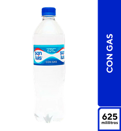 San Luis Con Gas 625  ml