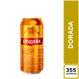 Cusqueña Dorada 355  ml