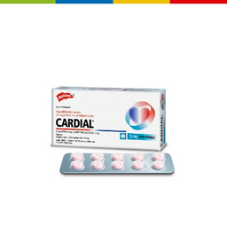 Cardial 5 Mg X Unid (62740)