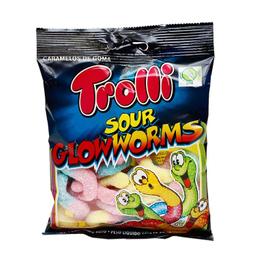 Gomas Trolli Sour Glow Worms 100 Gr