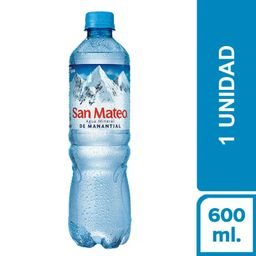 San Mateo Sin Gas 600  ml