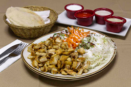 Shawarma con Ensalada Surtida