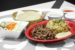 Shawarma con Arroz