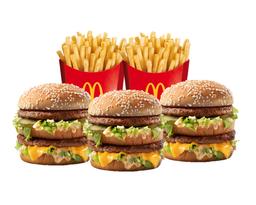 Big Mac Lovers x3