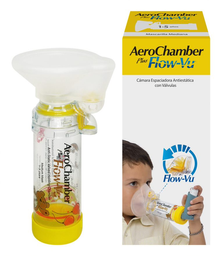 Mascarilla Aerochamber Flow-Vu Plus Child 1 U