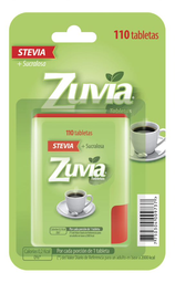 Endulzante Artificial Zuvia Stevia Dispenser 110 Tabletas
