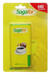 Endulzante Artificial Sugafor Tabletas 440 U