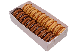 Alfajores Tradicional/Chocolate x 20
