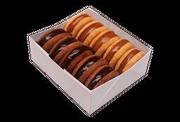 Alfajores Tradicional/Chocolate x 10