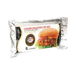 Hamburguesa Otto Kunz de Res Premium 85 g x 8