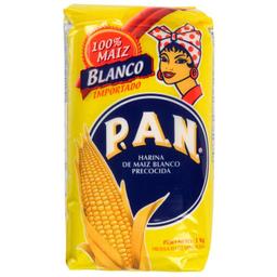 Harina De Maiz Blanco Precocida 1Kg Pan
