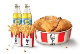 Combo Chick'n Share 5 Piezas