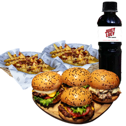 Combo Friends & Family Meal con Jugo 1LT