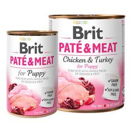 Alimento Para Perro Brit Pate & Meat Puppy Lata
