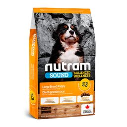 S3Nutram Large Breed Puppy Pollo y Avena