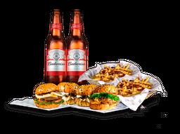Combo Friends & Family + 2 Budweiser