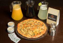 Pizza de Champiñones Familiar