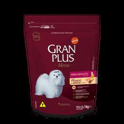 Alimento Para Gato Gran Plus Mini Adulto Pollo & Arroz 1 Kg
