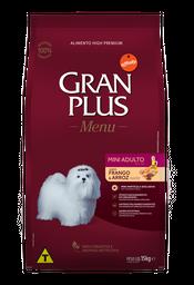 Alimento Para Gato Gran Plus Mini Adulto Pollo & Arroz 15 Kg