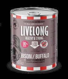 Alimento Para Perro Livelong Sabor Bisonte 362 g