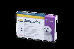 Tratamiento Antipulgas Simparica 10 mg 3 Tabletas