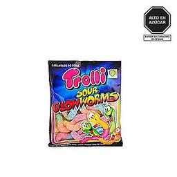 Trolli Caramelo Sour Glowworms