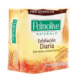 Jabón Exfoliación Diaria Naturals Avena/Azúcar 130 g x 3