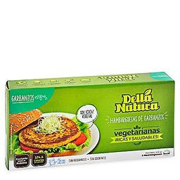 Della Natura Hamb Vegetarianas D Garbanzos Del