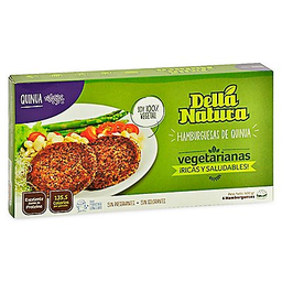 Della Natura Hamburguesa Vegetarianas De Qinua