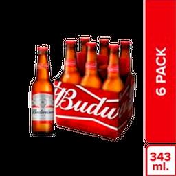 Cerveza Budweiser Bot 06 Unidades