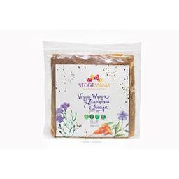 Veggiemanía Veggie Wraps De Zanahoria Y Linaza