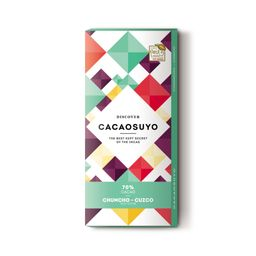 Cacaosuyo Chocolate 70% Chuncho Cuzco 70 gr