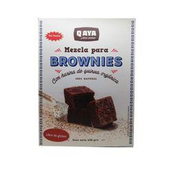 Q'aya Premezcla Brownies 620 gr