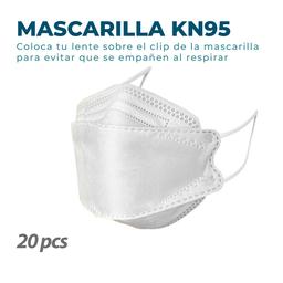20 Mascarillas KN95 Fish Nano