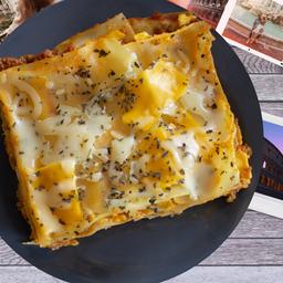 Lasagna de 4 Queso, 500 G.