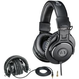 Audífonos Monitoreo Audiotechnica Ath-M30X Bk