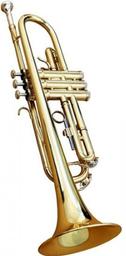 Trompeta Baldassare Dorada 6418L Gd