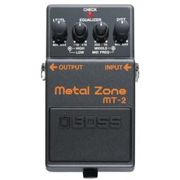 Pedal Efecto Boss Metal Zone Mt-2