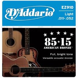 Cuerdas Guitarra Daddario Folk 11/52 Ez910