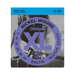 Cuerdas Guitarra Daddario Eléctrica 11/49 Exl115