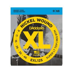 Cuerdas Guitarra Daddario Eléctrica 9/46 Exl125