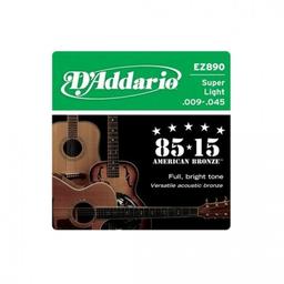 Cuerdas Guitarra Daddario Folk 9/45 Ez890