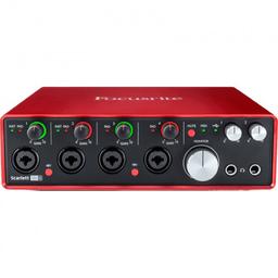 Interfaz Audio Focusrite 3ra Generación Scarlett 18I8
