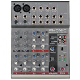 Mixer Phonic Análogo Am105Fx gy
