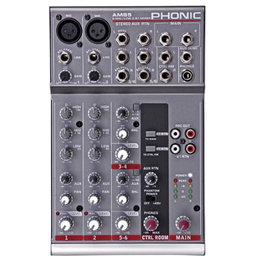 Mixer Phonic Análogo Am85 gy
