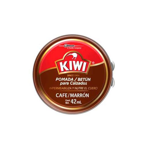 fe06c179 Pomada Para Calzado Kiwi Betún Café Marrón 42 mL a domicilio en Perú ...
