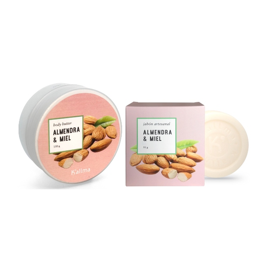 Body Butter + Jabón Artesanal Almendra y Miel