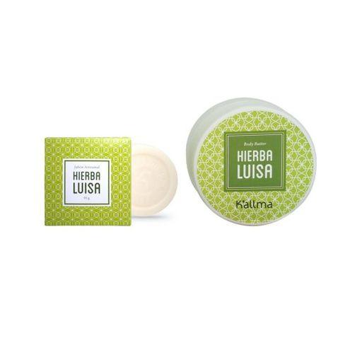 Body Butter + Jabón Artesanal Hierba Luisa